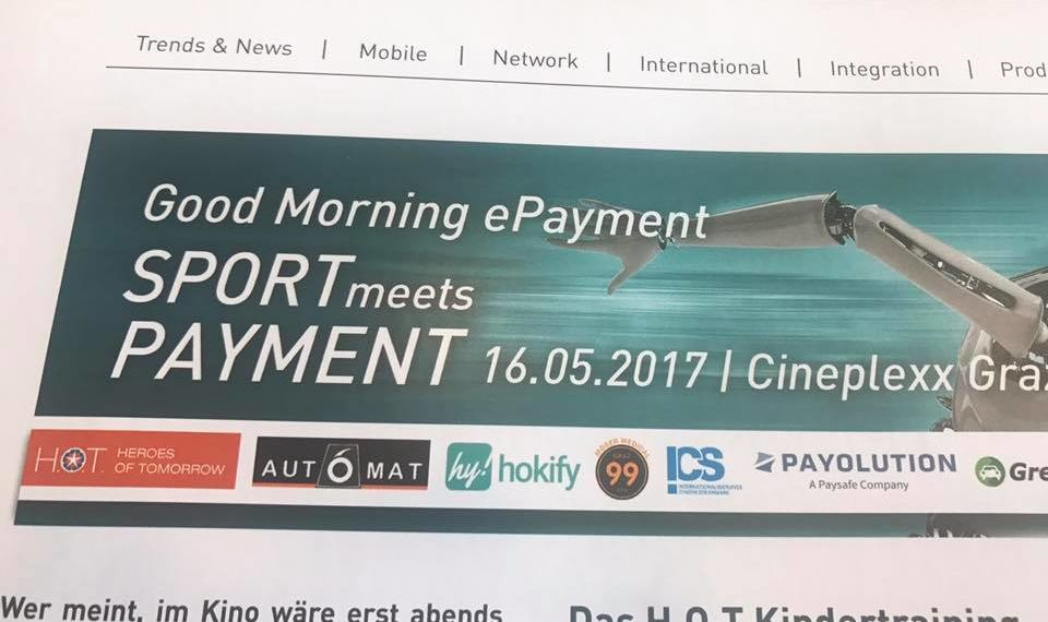 """Vortrag vor steirischer Wirtschaft bei """"Sport meets payment"""""""